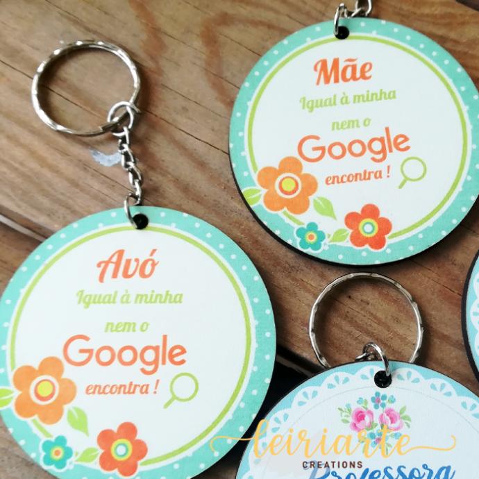 Porta chaves personalizados e coloridos