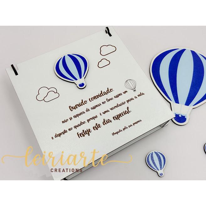 """Caixa personalizada """"balão"""""""