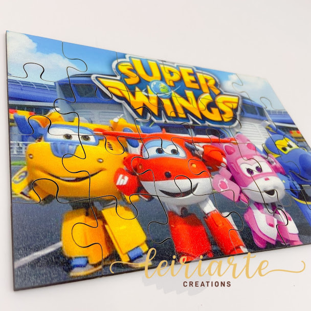 "Puzzle ""super wings"""